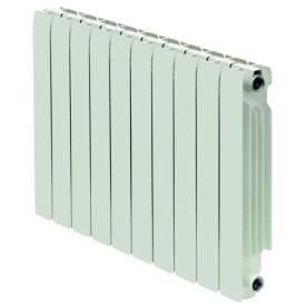 Batería de 4 elementos de radiador de aluminio Europa 600 C